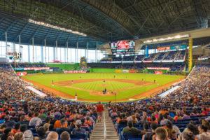Marlins Park baseball i miami