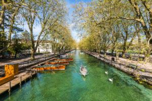 Pont des Amours broen i annecy