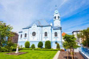 St. Elizabeth kirken i bratislava