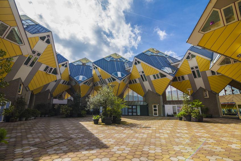 arkitektur i rotterdam