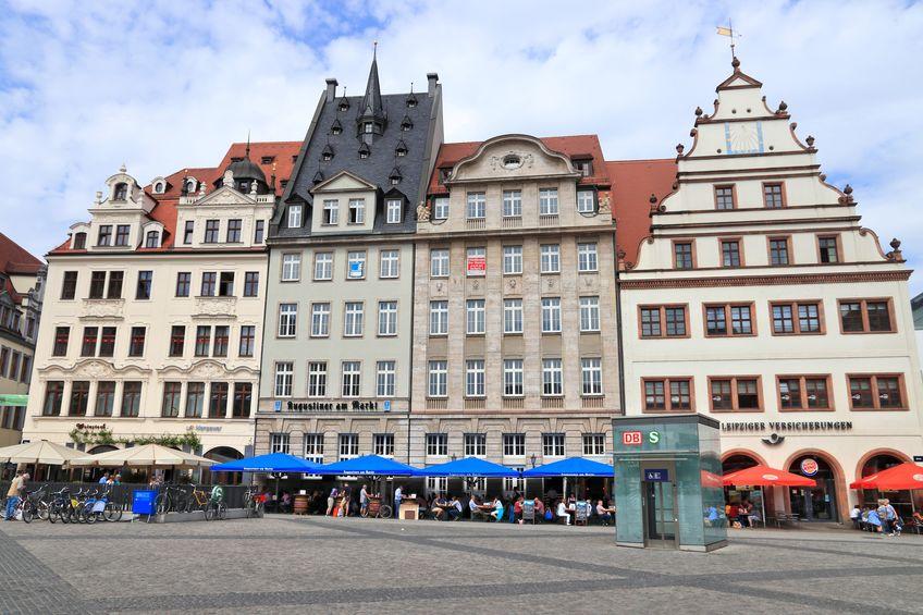 Markt De Er Sucht Ihn Leipzig