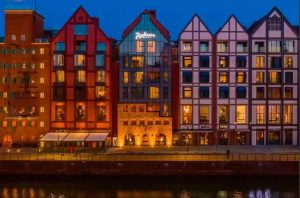 Radisson Hotel & Suites hotell i gdansk