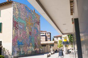 Veggmaleriene til Keith Haring i pisa