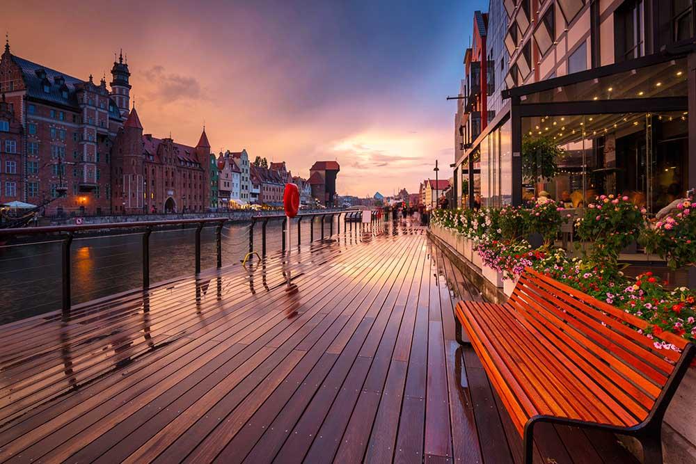 hotell Gdańsk - anbefalte hotell i Gdańsk