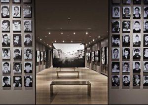minnesmuseum om Srebrenica-massakren
