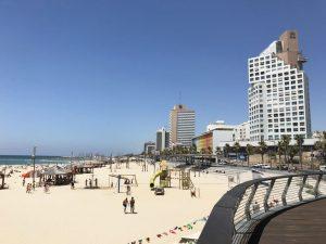strandpromenaden i tel aviv