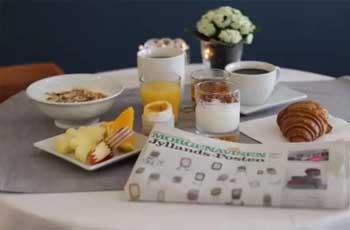 hotell med gratis frokost i københavn