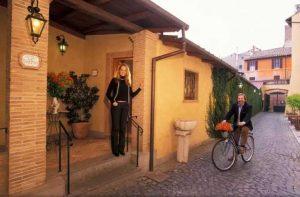 romantisk hotell i roma