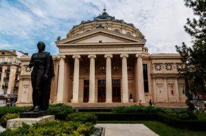 Ateneul Român konserthuset i bucuresti