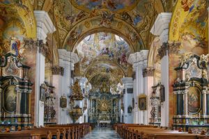 Basilika Mariatrost kirken i graz