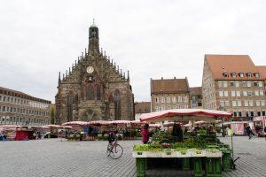 hauptmarkt i Nürnberg