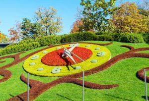 Jardin Anglais parken i geneve
