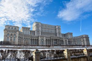 Palatul Parlamentului - Parlamentspalasset i bucuresti