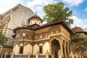 Stavropoleos-klosteret i bucuresti