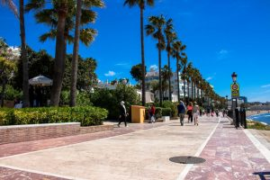 strandpromenaden i marbella