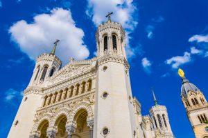 Basilique Notre-Dame de Fourvière i lyon