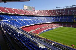 Camp Nou stadion i barcelona