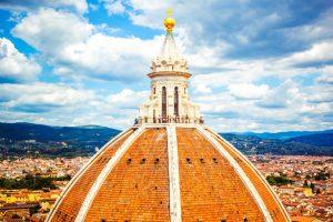 Cupola del Brunelleschi - utsikt fra toppen