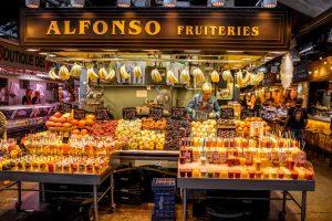 Mercat de la Boqueria - markedet i barcelona