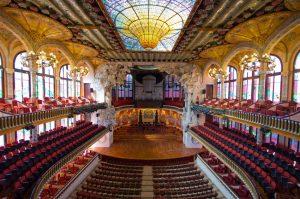 Palau de la Música Catalana - konserthus i barcelona