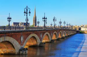 Pont de Pierre broen i bordeaux