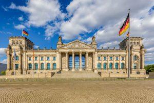 Riksdagsbygningen i berlin