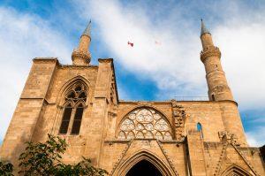 Selimiye-moskéen i nikosia på kypros