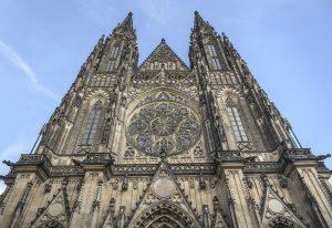 St. Vitus Katedralen i praha