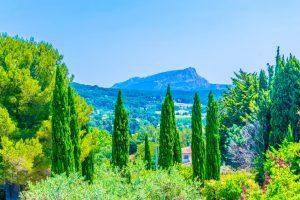 Terrain des Peintres parken i aix en provence