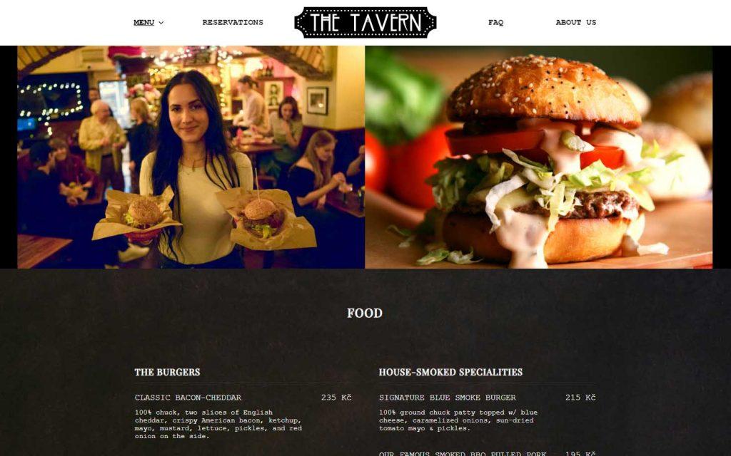 The Tavern i Praha – topp burgerbar