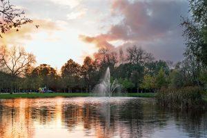 Vondelpark i amsterdam