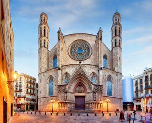 attraksjoner i barcelona - Eglesia de Santa Maria del Mar