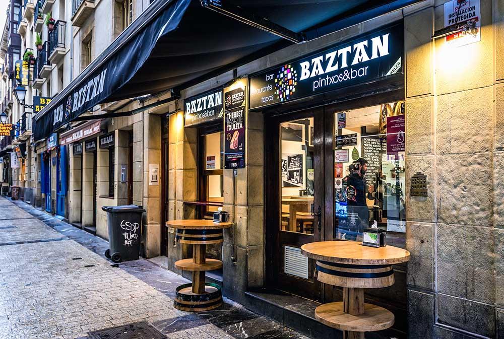 baztan bar i san sebastian
