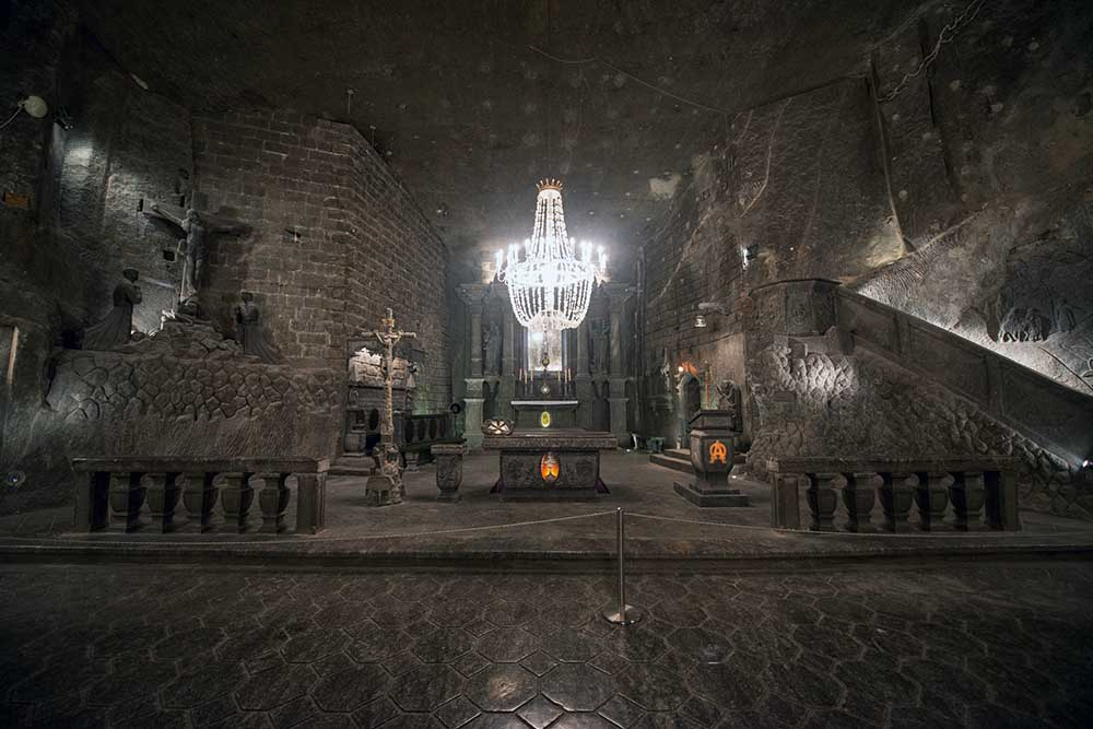 saltgruvene i Wieliczka