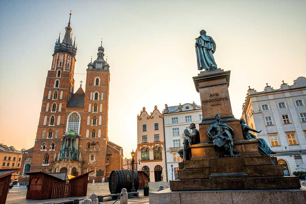 gamlebyen i krakow