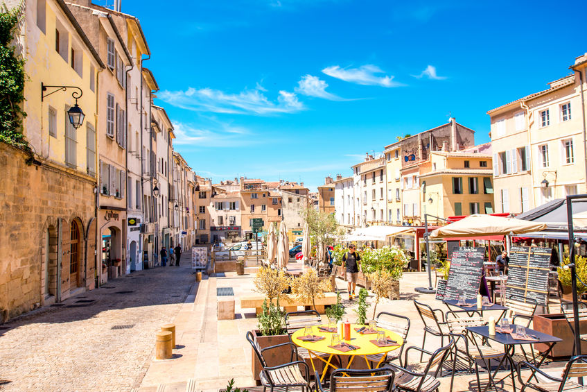 reise til Aix-en-Provence