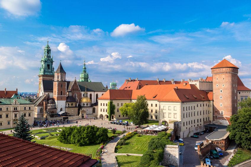 ta en spasertur på wawel høyden i krakow