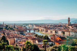 utsikt over firenze fra Piazzale Michelangelo
