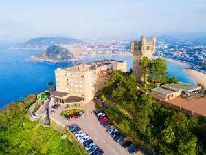 utsikt over san sebastian fra Monte Igueldo