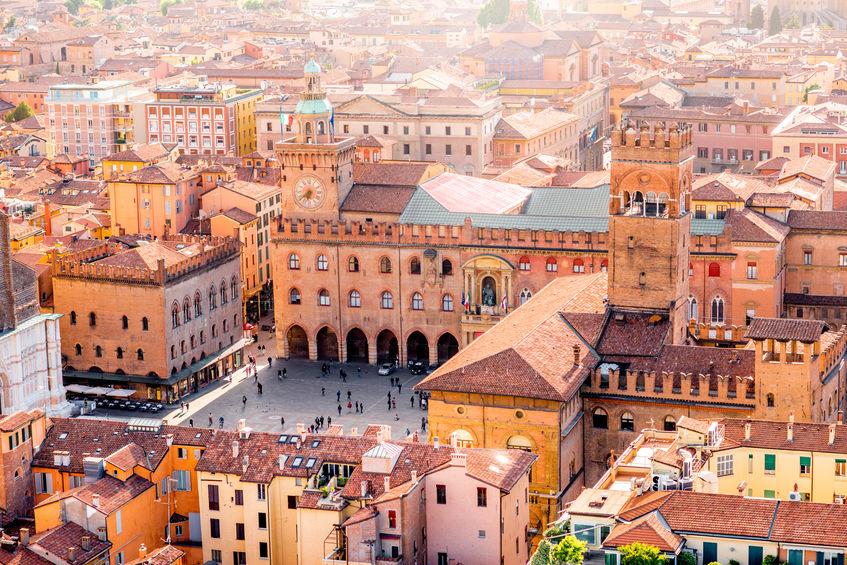 bologna arkitektur