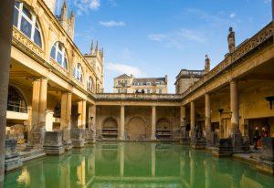 det romerske badet i bath