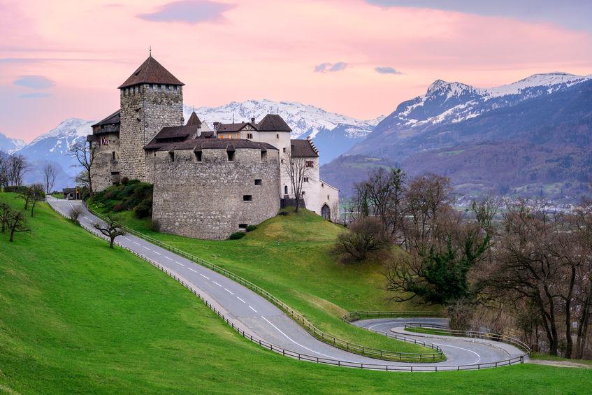 reise til Liechtenstein