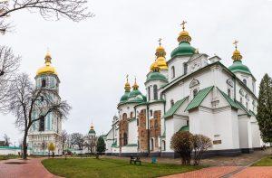 St. Sofia-katedralen i kiev