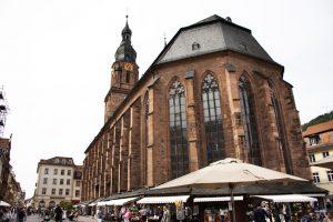 Heiliggeistkirche i heidelberg