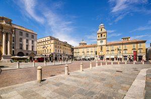 Piazza Garibaldi i Parma