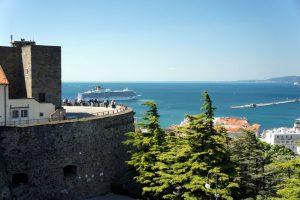 San Giusto slottet i trieste