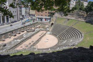 det romerske teateret i trieste
