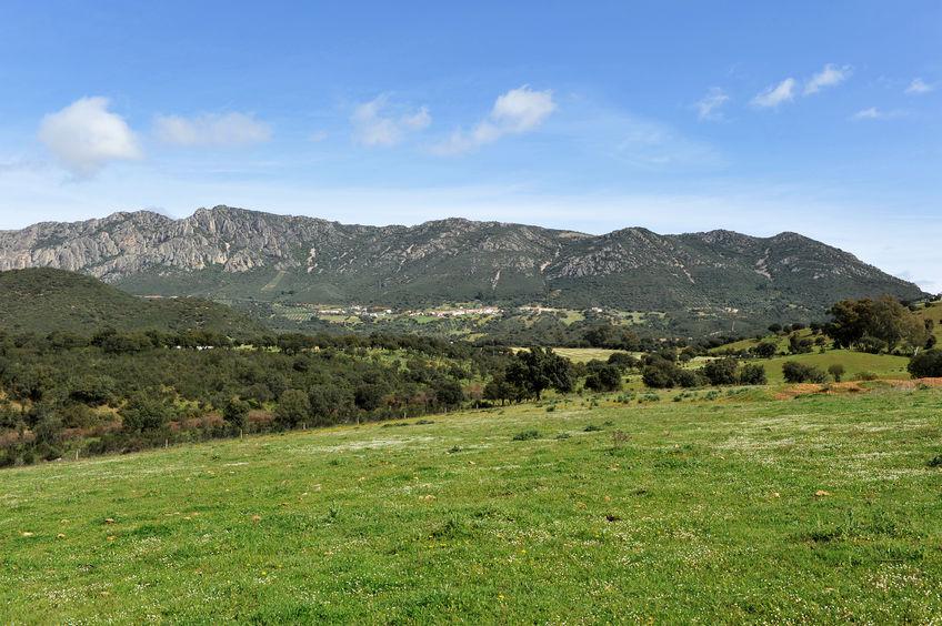 sierra morena fjellene i spania