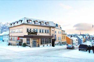 billig hotell i tromsø sentrum - skansen hotell