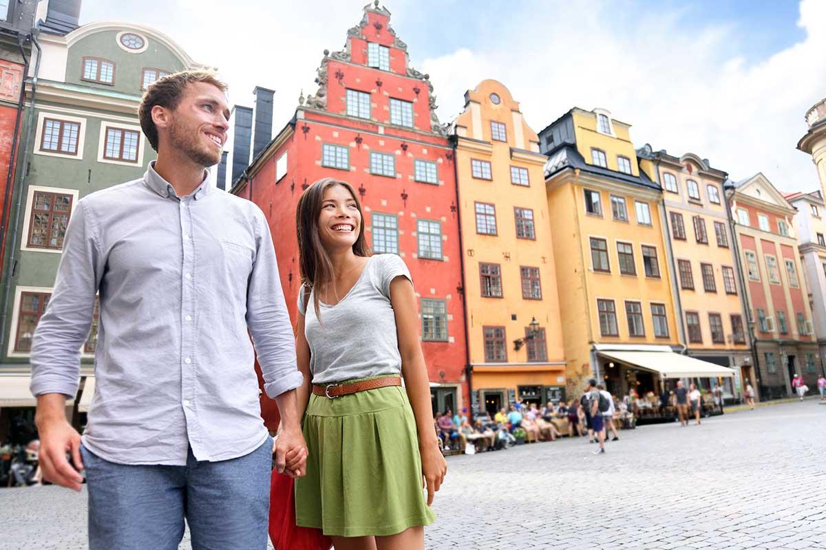 storbyferie med kjæresten til stockholm